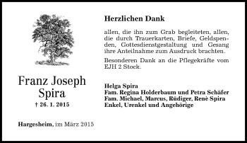 Zur Gedenkseite von Franz Joseph