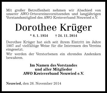 Zur Gedenkseite von Dorothée