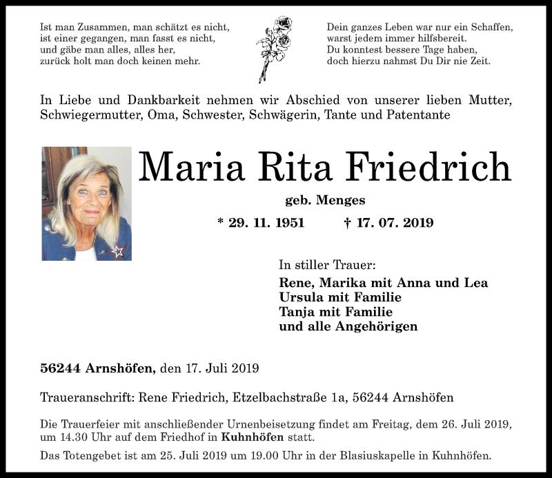 Rita Friedrich